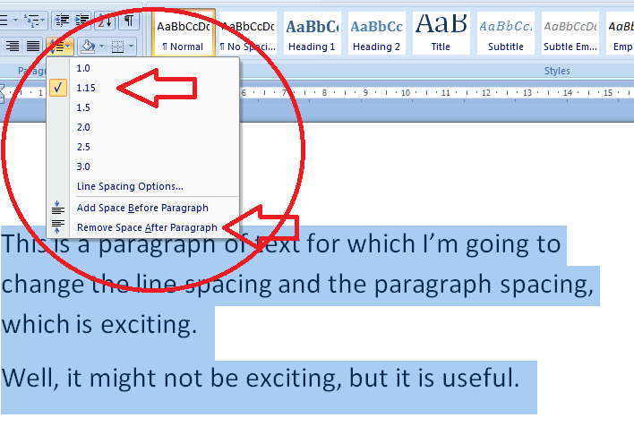 how to put a half line on word
