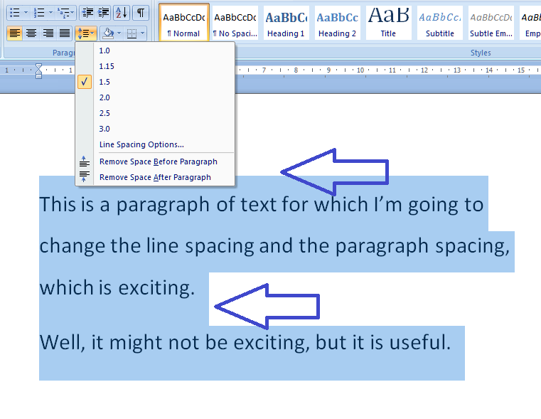 write a 150-200 word paragraph spacing