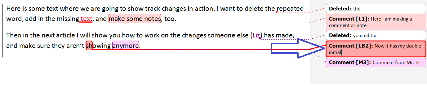 How can I change the name and time stamp on comments I add on Microsoft Word?