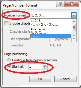 15 format page numbers