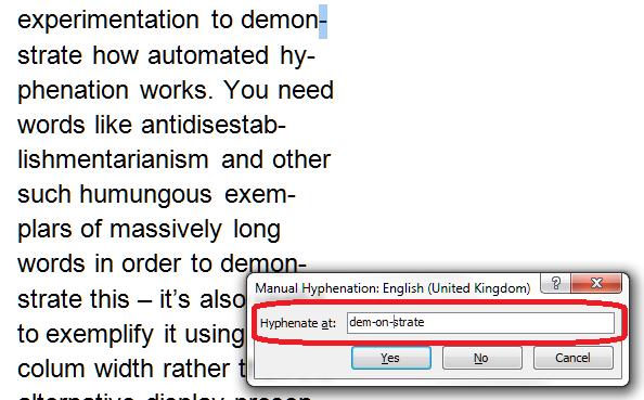 7 manual hyphenation
