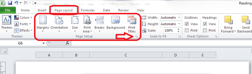How do i print out table headings at the top of every page for Table design tab excel