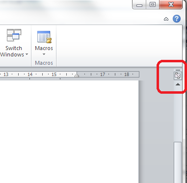 how to change word sheet to horizontal in word