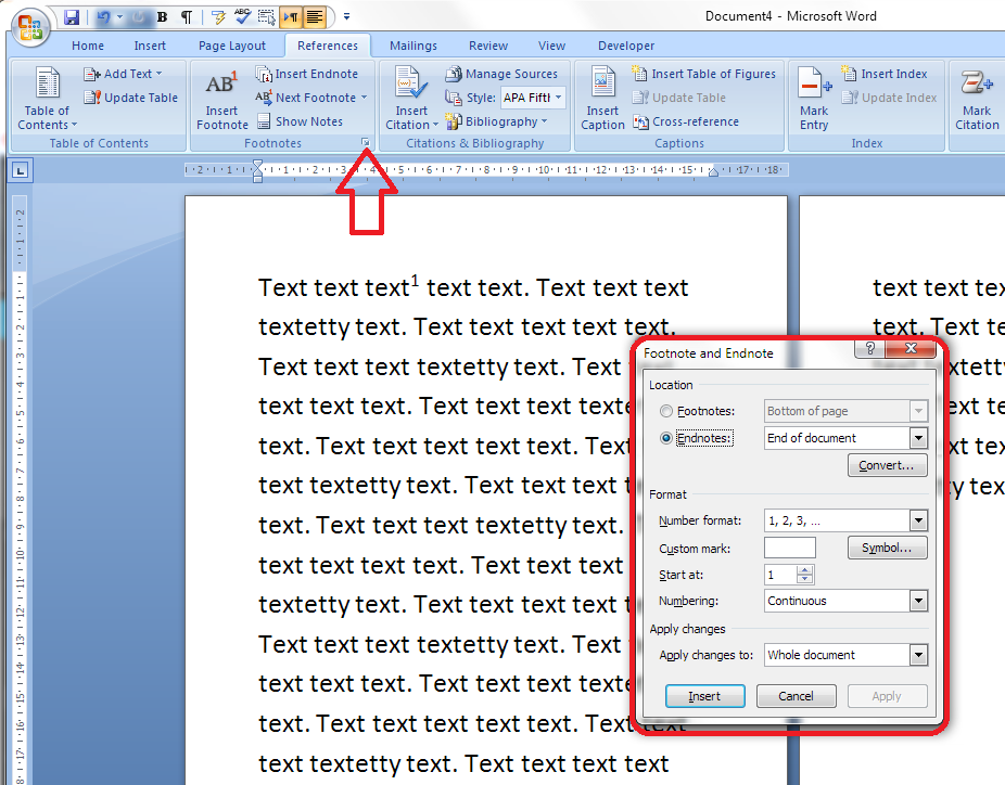 Footnotes To Endnotes Word Converter