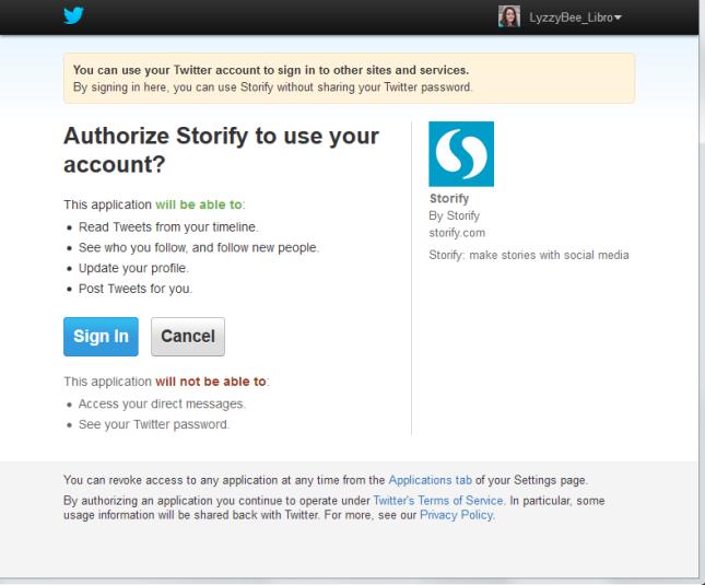 3 Twitter login