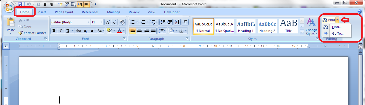 How To Use Find And Replace In Word 1 Simple Search And