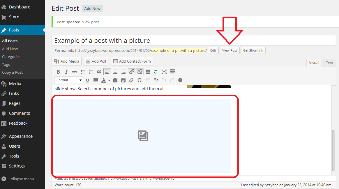 adding a pdf to wordpress gallery