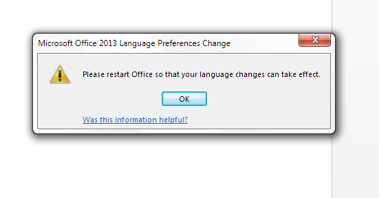 How to change your editing language in Word 2013, Word 2010