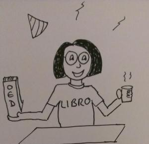 Libro birthday cartoon