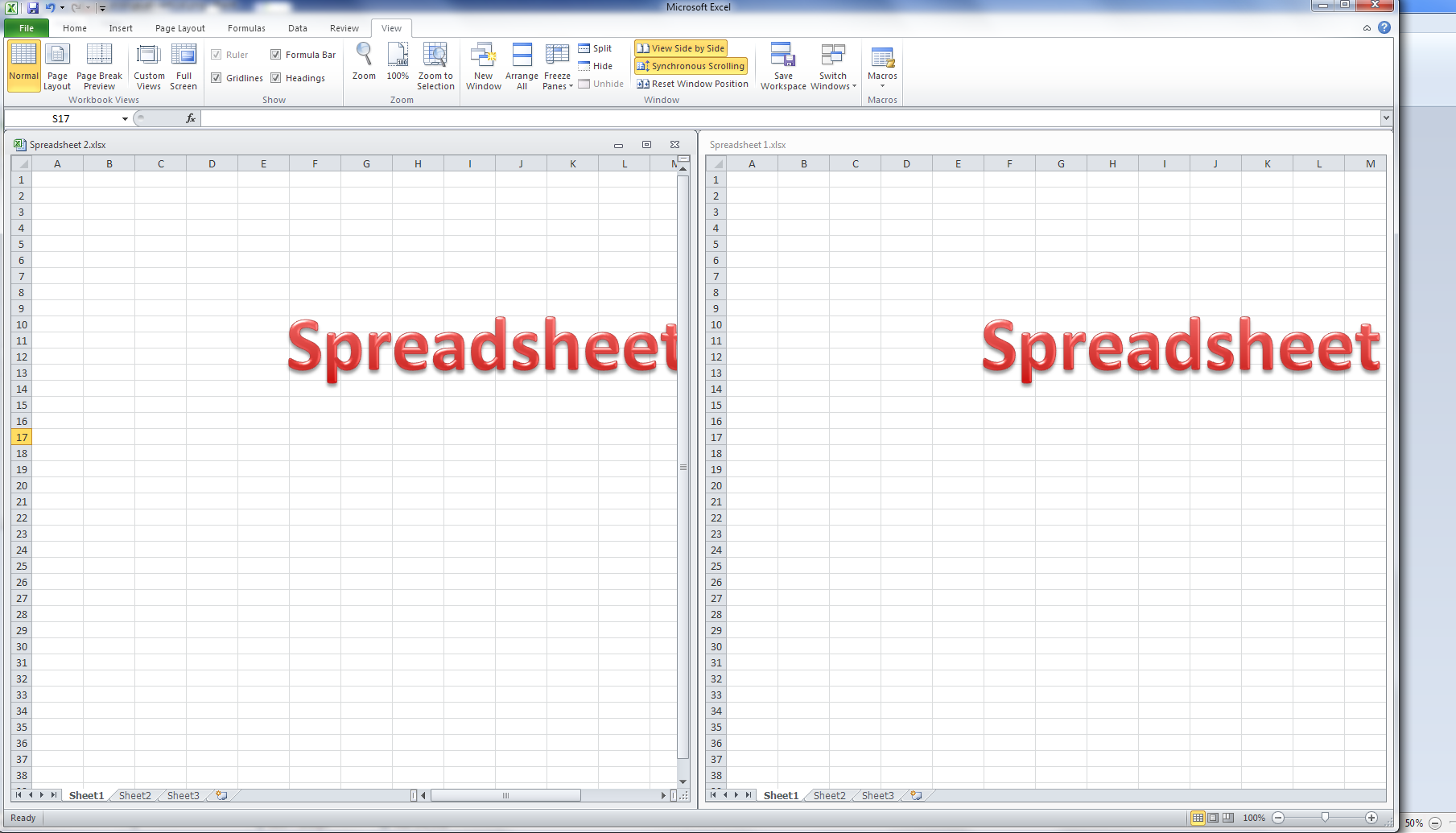 how do i view two excel spreadsheets at a time libroediting proofreading editing. Black Bedroom Furniture Sets. Home Design Ideas