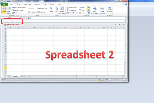 excel arrange all cascade option