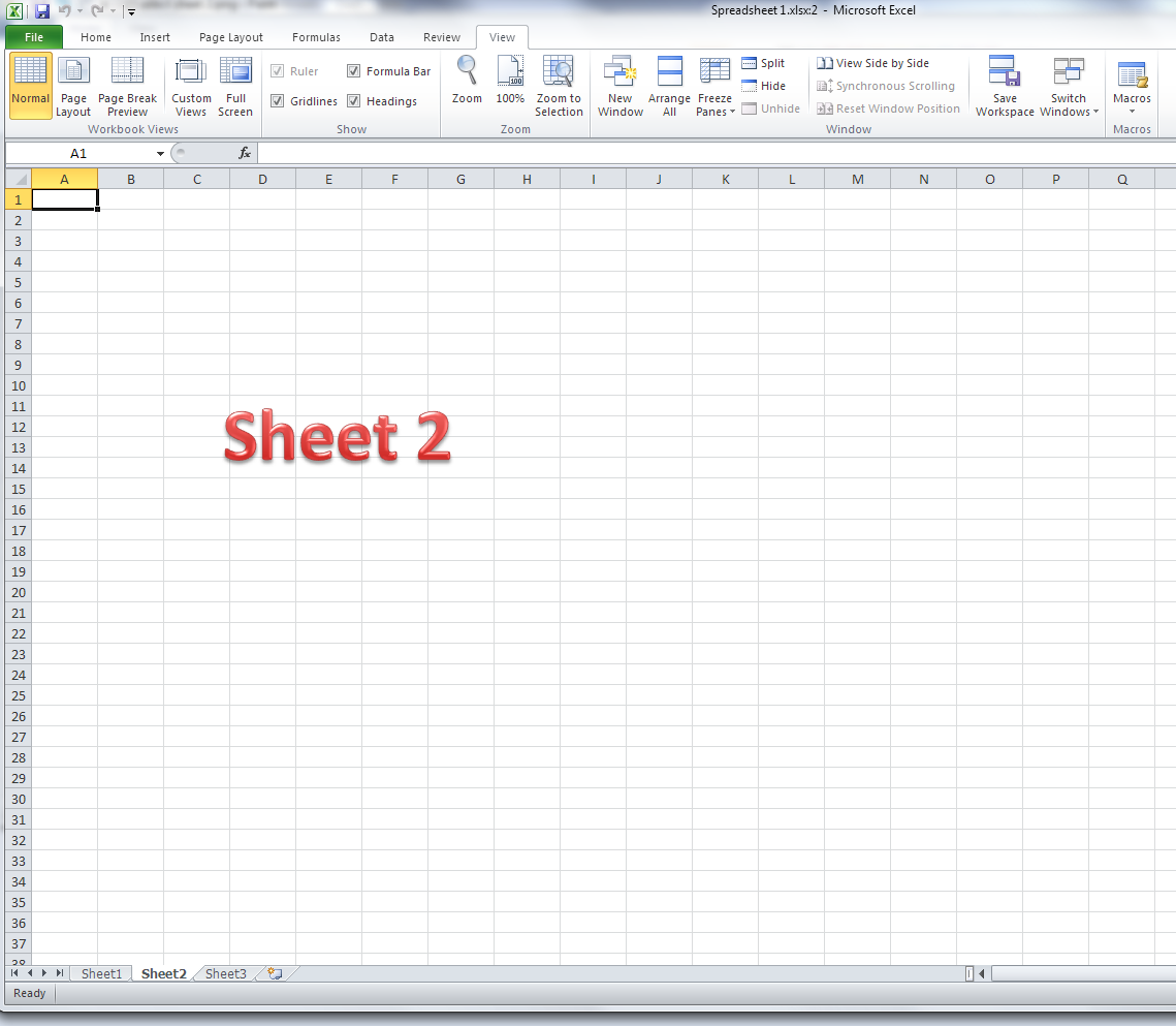 Workbooks excel.workbooks.open : How do I view two sheets of an Excel workbook at the same time ...