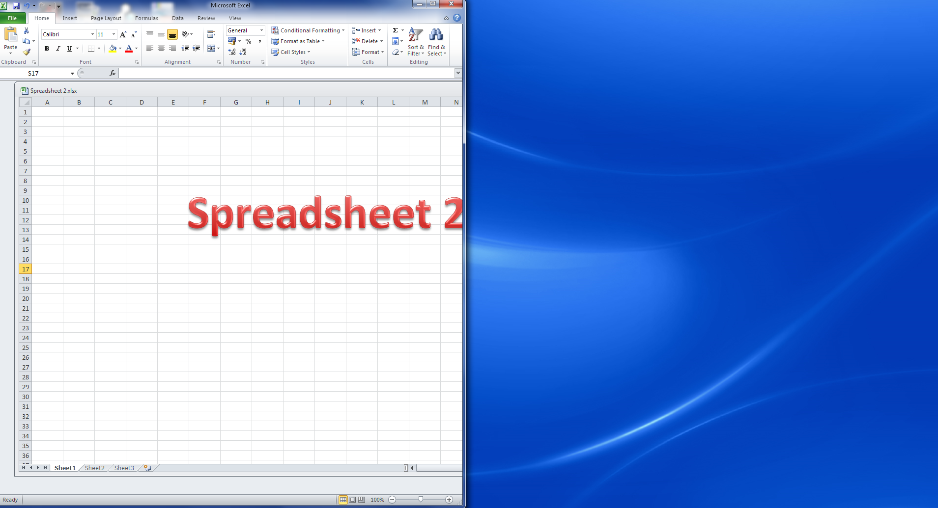 excel spred sheets