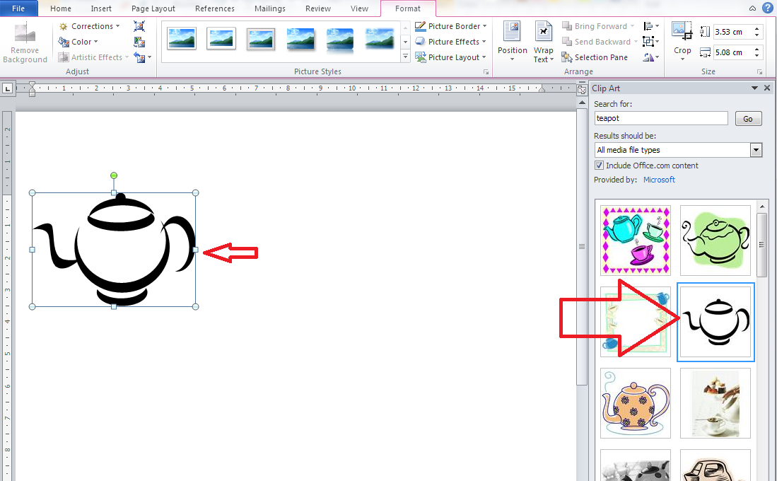 clipart in excel 2013 - photo #3
