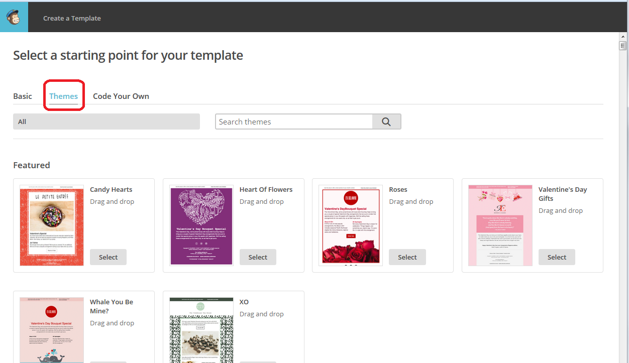 MailChimp How To Create A Template For Your Newsletter - Drag and drop mailchimp templates