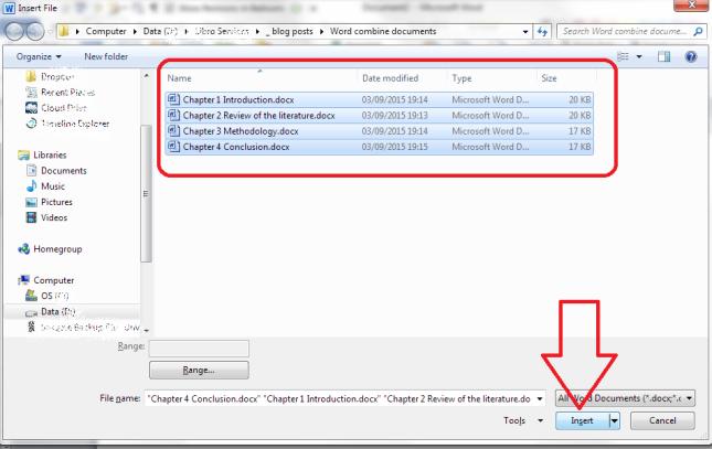 4 select files