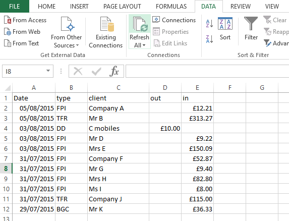 How do I flip a column in Excel 2007, 2010 and 2013 ...