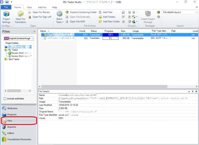 2 open files