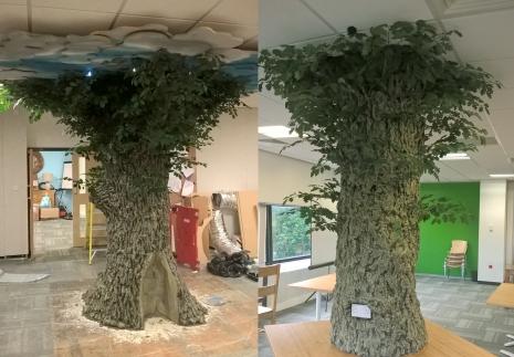 Tone Hitchcock trees Desklodge